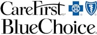 care first, blue choice, insurance, logo